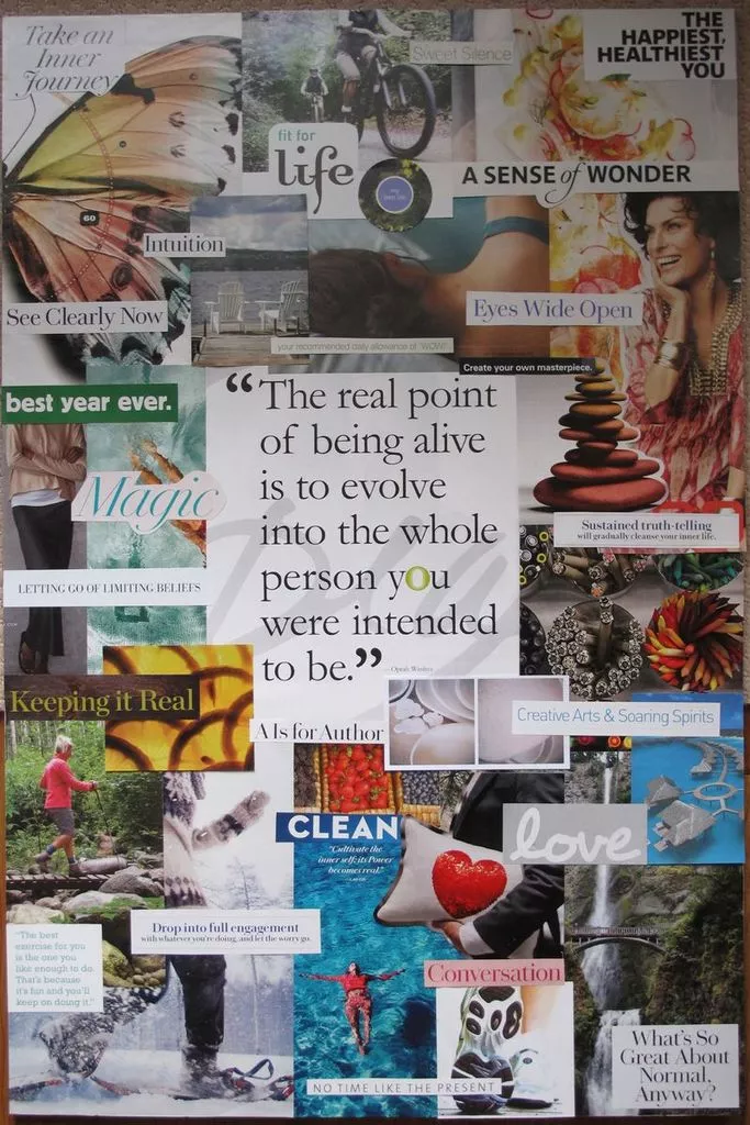 4 tips to making a vision board